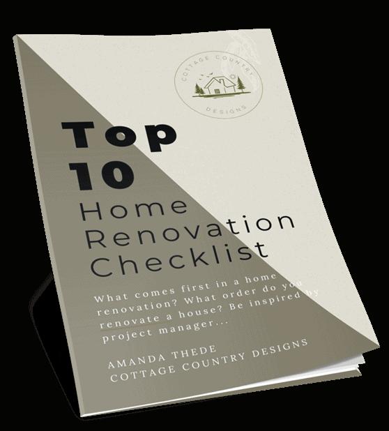 Home Renovation Checklist PDF